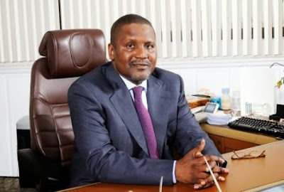 President of the Dangote Group, Aliko Dangote