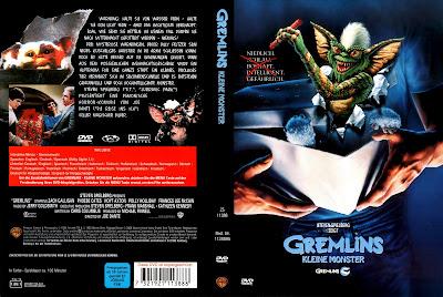 Carátula dvd: Gremlins 1984