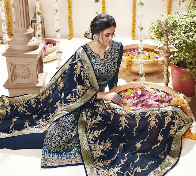 wedding designer churidar kameez