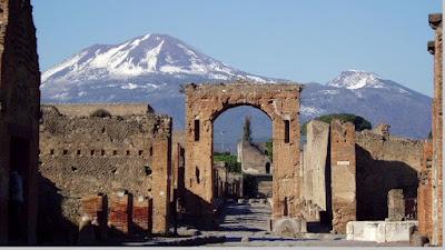 Fakta lenyapnya kota Pompeii