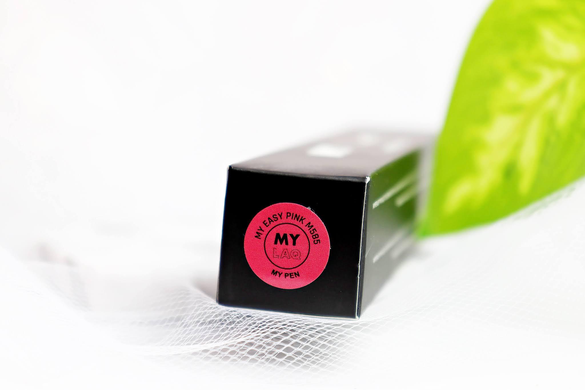 Lakier Hybrydowy MylaQ My Pen 3w1 Magenta Pink
