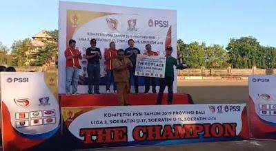 PSAD Udayana Torehkan Prestasi Pada Kompetisi Liga 3 PSSI Bali