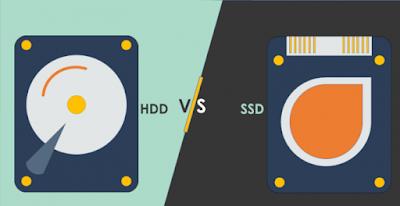 4 Perbedaan SSD Dan HDD