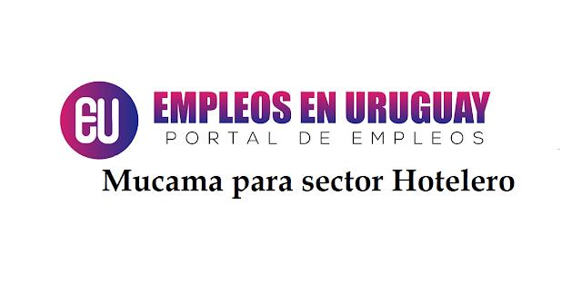 Mucama para sector Hotelero