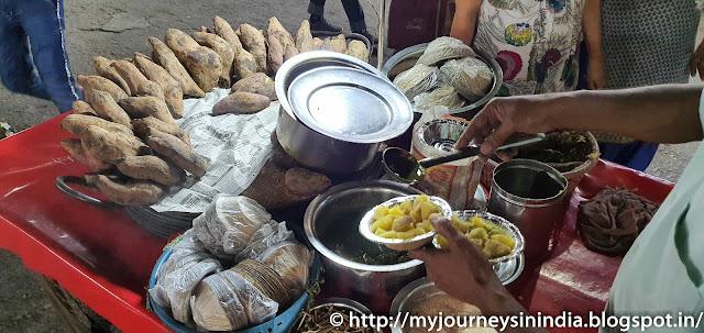 Sweet Potato Street Food Haridwar