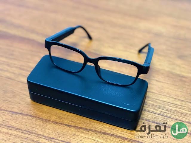 مادا تعرف عن نظارات امازون Echo Frames