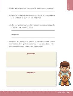 Apoyo Primaria Desafíos matemáticos 3ro. Grado Bloque II Lección 28 Las mascotas de la escuela