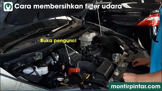Cara membersihkan filter udara mobil atau menggantinya