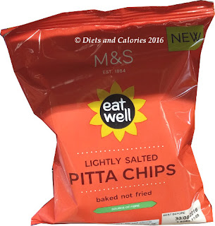 M&S Eat Well Lightly Salted Pitta Chips