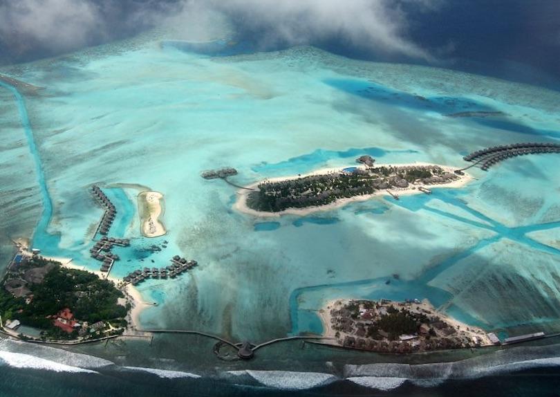 اجمل الجزر المرجانية في العالم