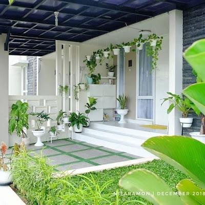 dekorasi ruang keluarga dengan penataan yang simpel