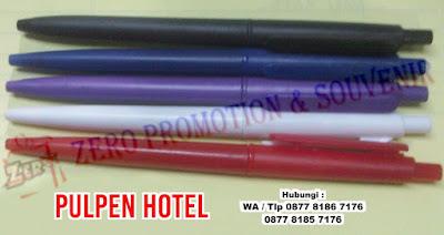 Jual Pulpen Hotel, Souvenir Pulpen Hotel, pen hotel promosi