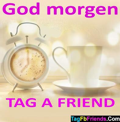 Good morning in Danish language