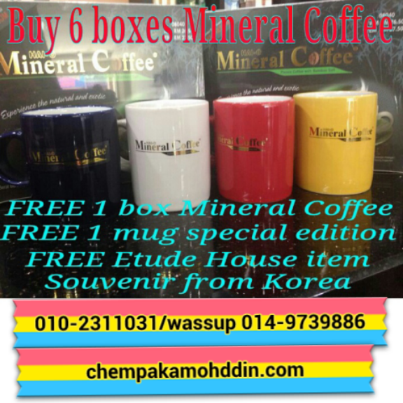 promosi mineral coffee