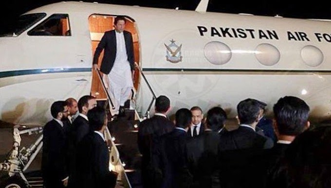 PM Imran aircraft landed after developing a technical error, New York