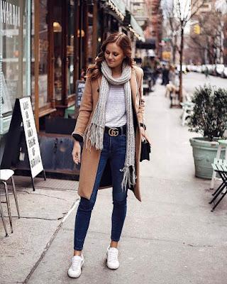 Outfit casual de otoño de moda
