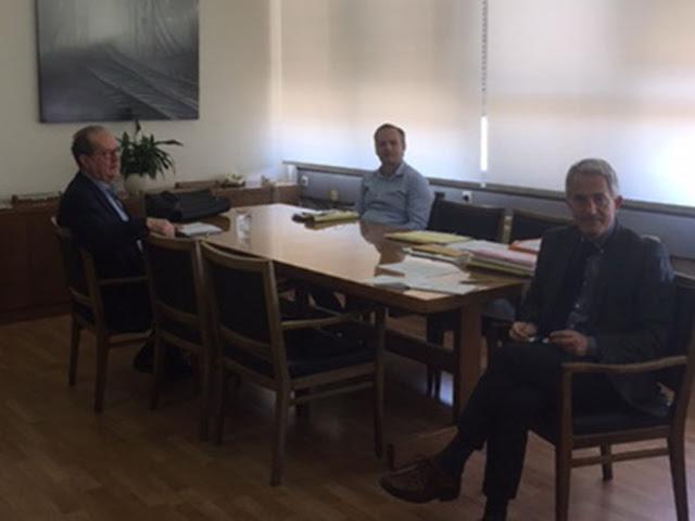 Συνάντηση για την επαναδρομολόγηση του τρένου Κόρινθος – Ναύπλιο στην Αθήνα