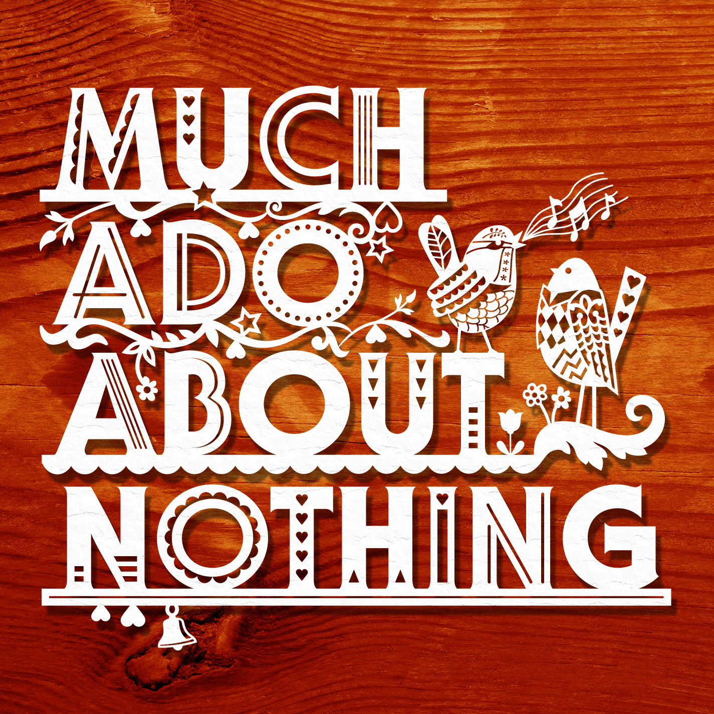 What does Shakespeare show about relationships in Much Ado About Nothing ?