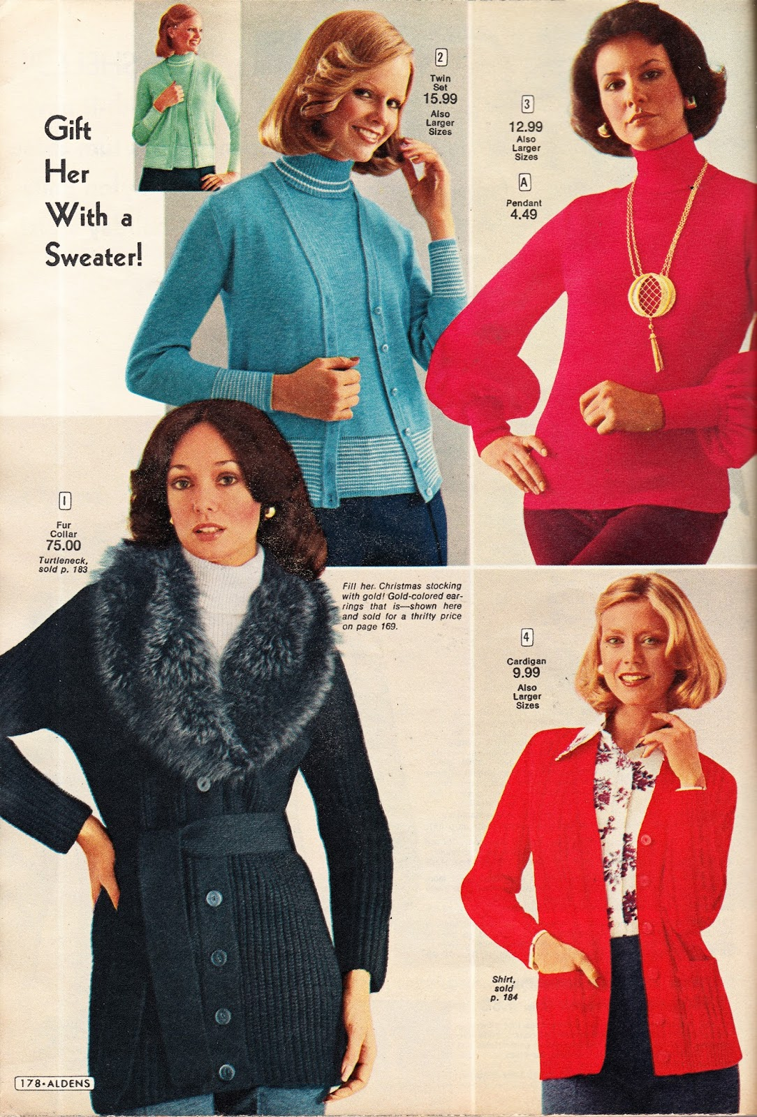 Kathy Loghry Blogspot: That\'s So 70s: Christmas Time is Sweater Time!