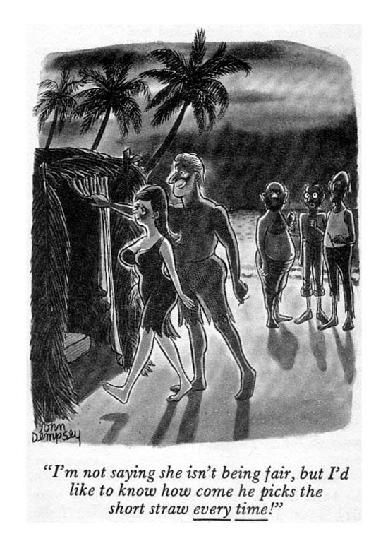 Cartoon deserted island sex