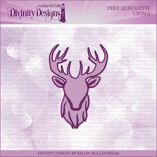 Custom Dies: Deer Silhouette