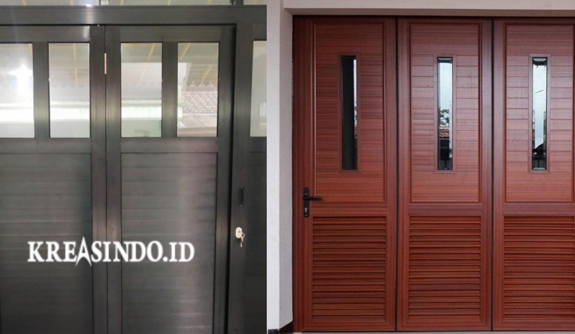 Harga Pintu Lipat atau Pintu Tikung Aluminium