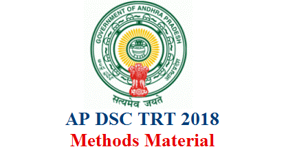 AP Teacher Recruitment Notification which is famous as AP DSC previously and named as AP TRT and TET cum TRT 2018 now is out. Youngsters with Suitable Educational and Professional qualifications and satisfying Eligibility critria for Various Posts like SGT SA LP PET in School Education Department of Andhra Pradesh. Aspirants are getting ready for big recruitment exam Here are some Study material for Content Methods English from well known coaching centres Avanigadda Sri Sri Kanigiri Now Download Methodology Study Material for AP TRT and TET cum TRT 2018 here ap-dsc-trt-methodology-study-material-download
