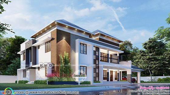 Contemporary style side view design