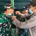 Sambut Dirgahayu Kodam I Bukit Barisan ke-71, Polres Serdang Bedagai Sambangi Koramil-07 Perbaungan