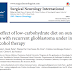 Efeito adjuvante da dieta pobre em carboidratos nos desfechos de pacientes com glioblastoma recorrente sob terapia com álcool perílico intranasal.