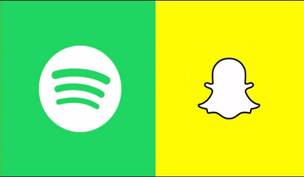 Spotify sharing music on Snapchat is now possible