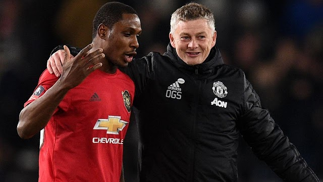Odion Ighalo Extends His Loan Deal With Manchester United