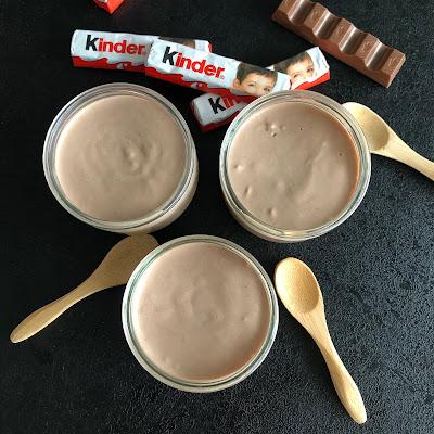 Crèmes au chocolat Kinder
