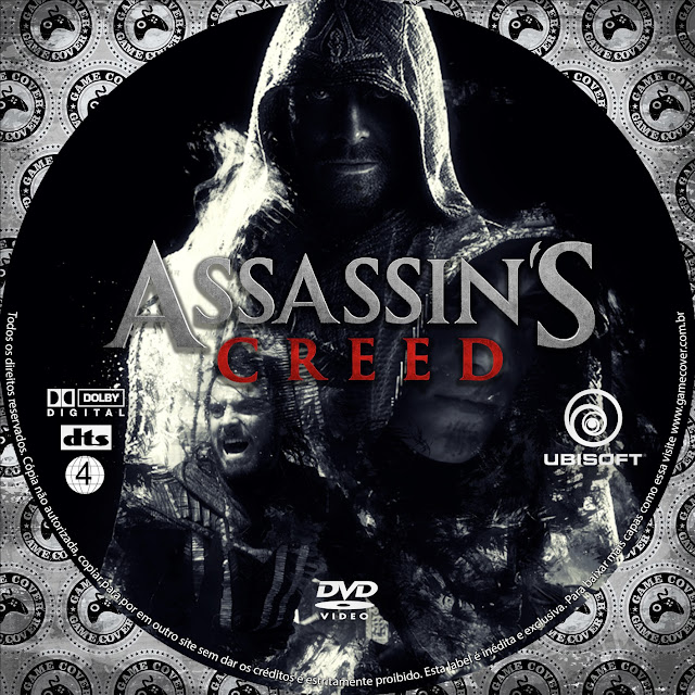 Label DVD Assassins Creed [Exclusiva]