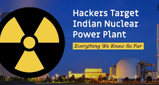 Hackers attack sensitive information from Indian Nuclear Program