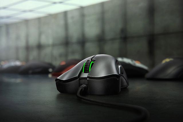 Chuột Razer Deathadder Essential mang đến độ phân giải ấn tượng