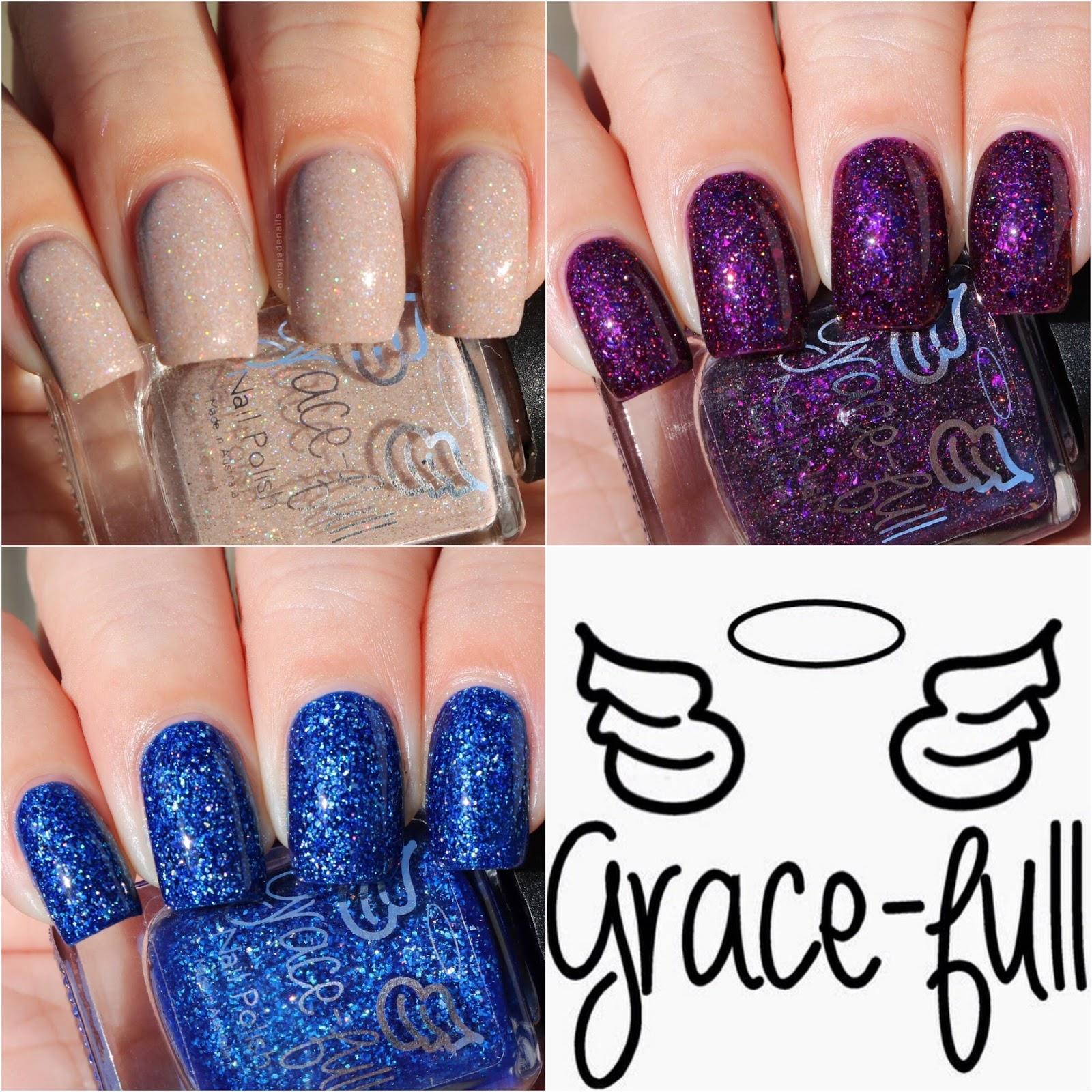 Olivia Jade Nails: 2017