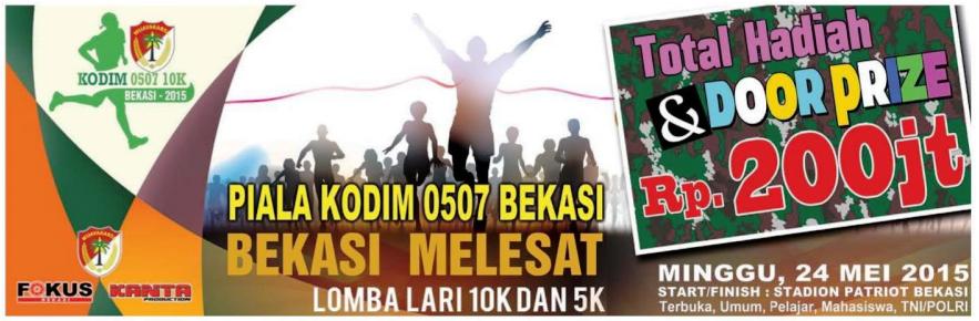Lomba Lari Marathon KODIM 0507 10K