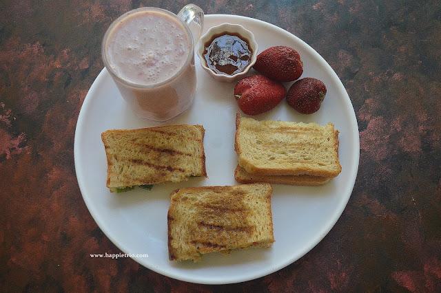 Tri Colour Capsicum Sandwich  Recipe | Capsicum Sandwich |Bell Pepper Sandwich