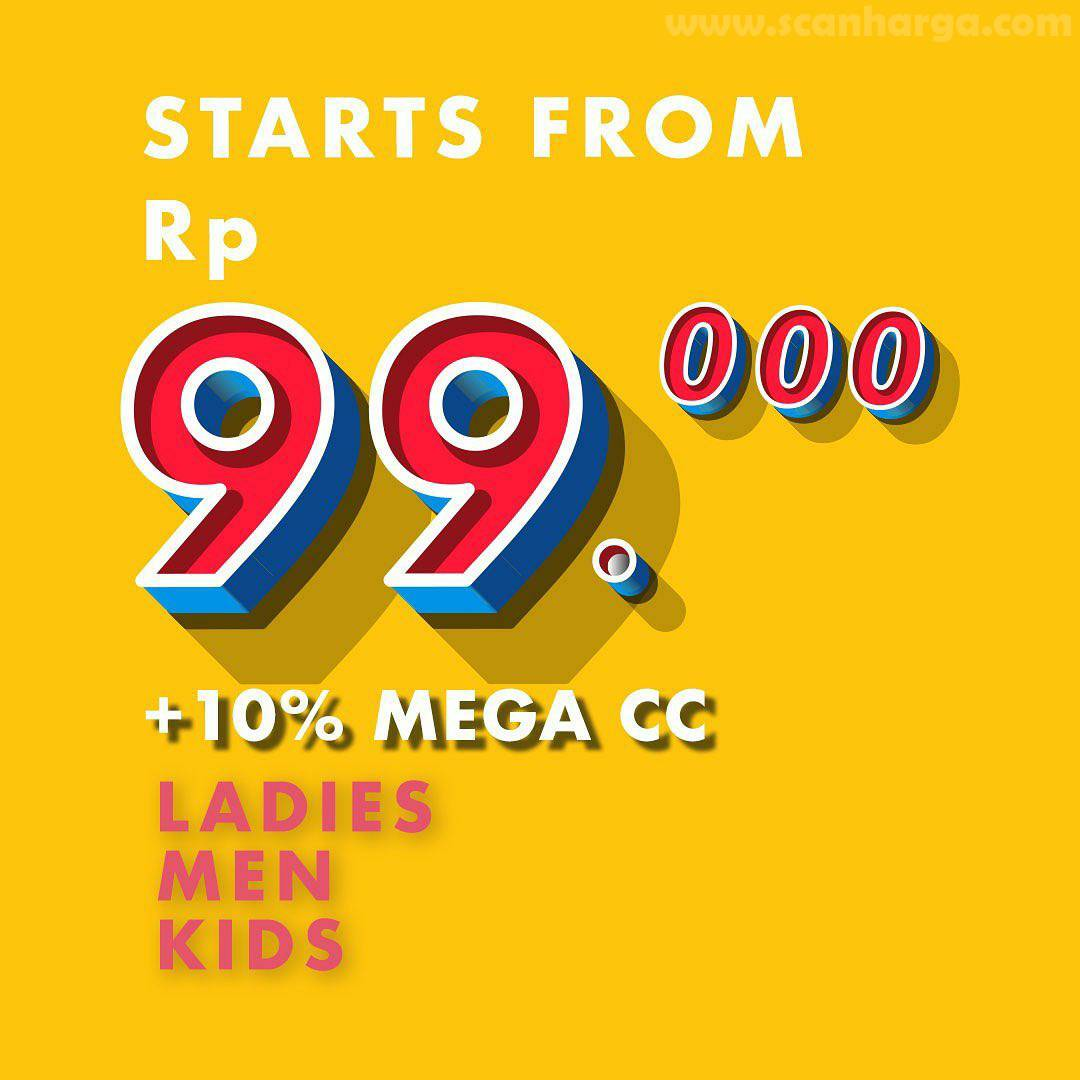 Promo METRO Department Store SUPER DEAL 9.9 Special Price Start From Rp 99.000 + 10% For MEGA Credit Card
