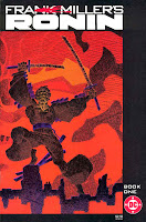 Ronin v1 #1 dc comic book cover art by Frank Miller