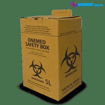 Tempat Limbah Medis 5 Liter (Safety Box)