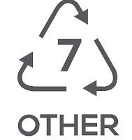 Simbol Daur Ulang Plastik 7 - Jenis plastik lain (Miscellaneous Plastics)