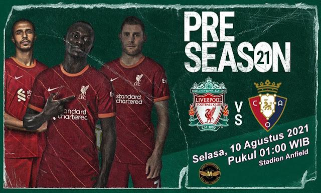 Prediksi Liverpool Vs Osasuna