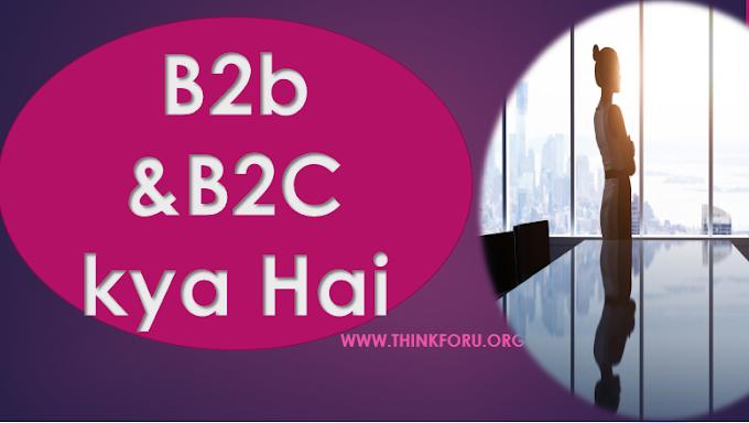 B2B मार्केटिंग क्या है?बी 2 बी कंपनियों के उदाहरण,बी 2 बी मार्केटिंग के प्रकार ,बी 2 बी कंपनी क्या है? B2B(Business to Business) marketing,example,company,strategy kya hai ,How to Develop or create  B2B in HIndi