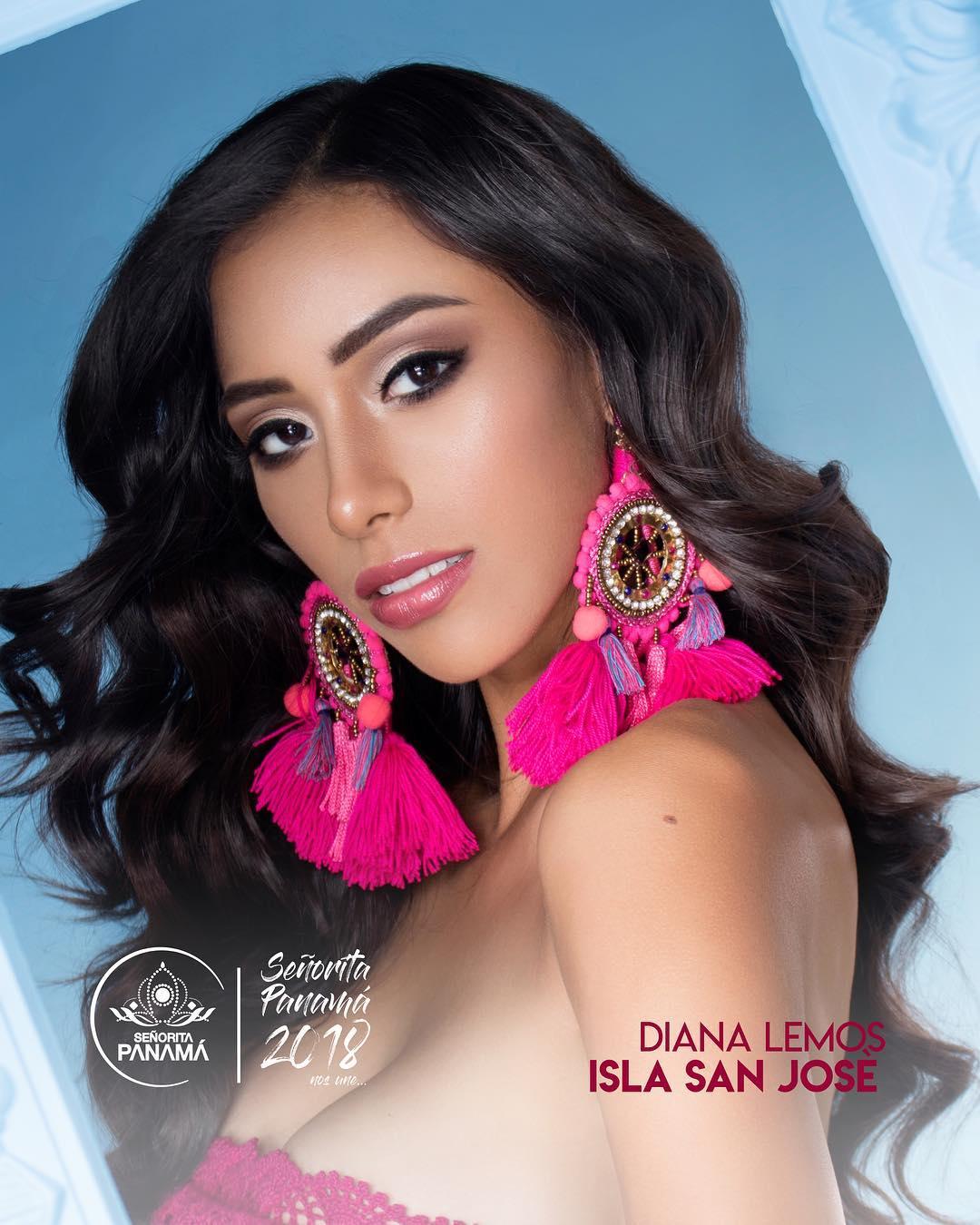 señorita miss colombia 2018 candidates candidatas contestants delegates Miss Isla San José Diana Lemos