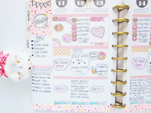 Weekly Planner Spread