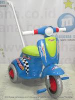 Sepeda Roda Tiga Royal RY309S Skupi Blue