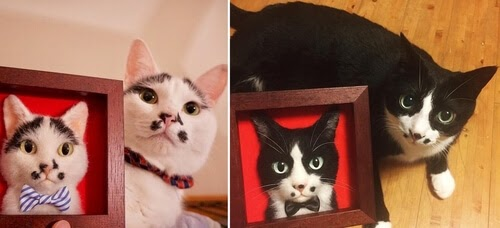 00-Wakuneco-Wool-Needle-Felt-Cat-Portraits-and-Video-Demonstration-www-designstack-co