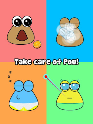 Download Game Pou Mod APK unlimited Coin